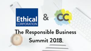 Responsible Business Summit 2018 Header
