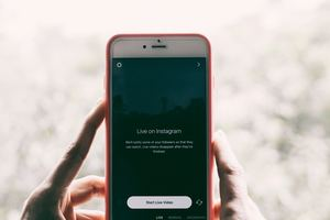 Instagram stories and live streaming are great, informal ways to connect with your audience.