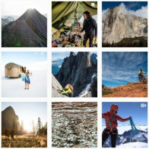 Patagonia doesn't use social media as a free advertising board, but instead a place to tell stories.