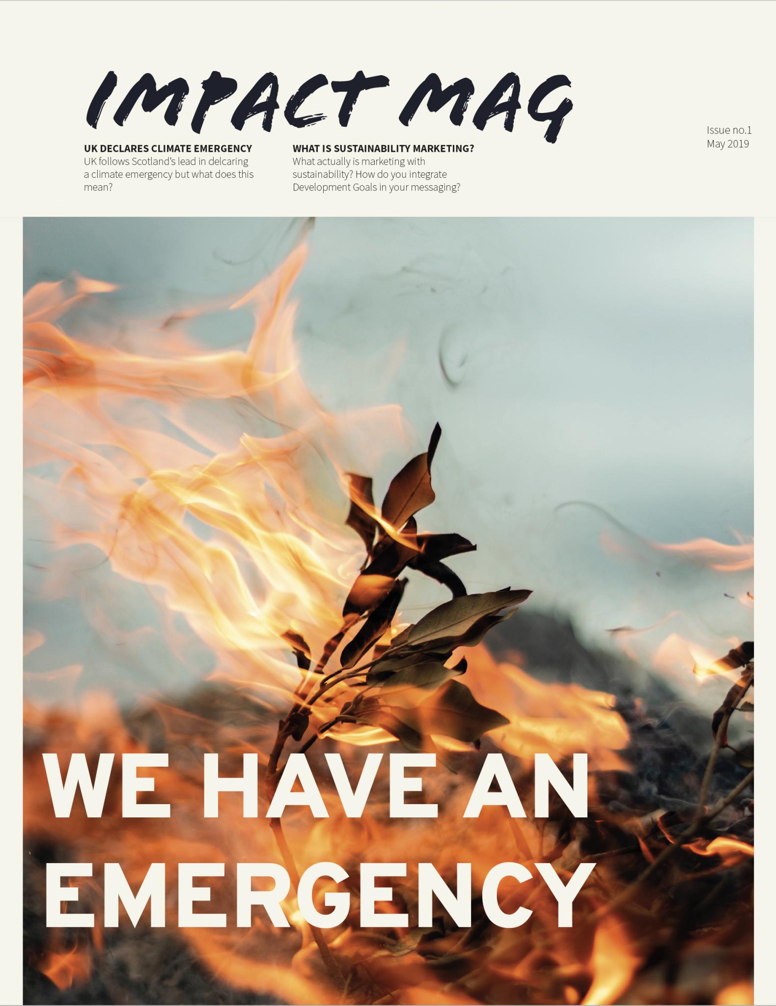 impact magazine from conscious creatives hero shot