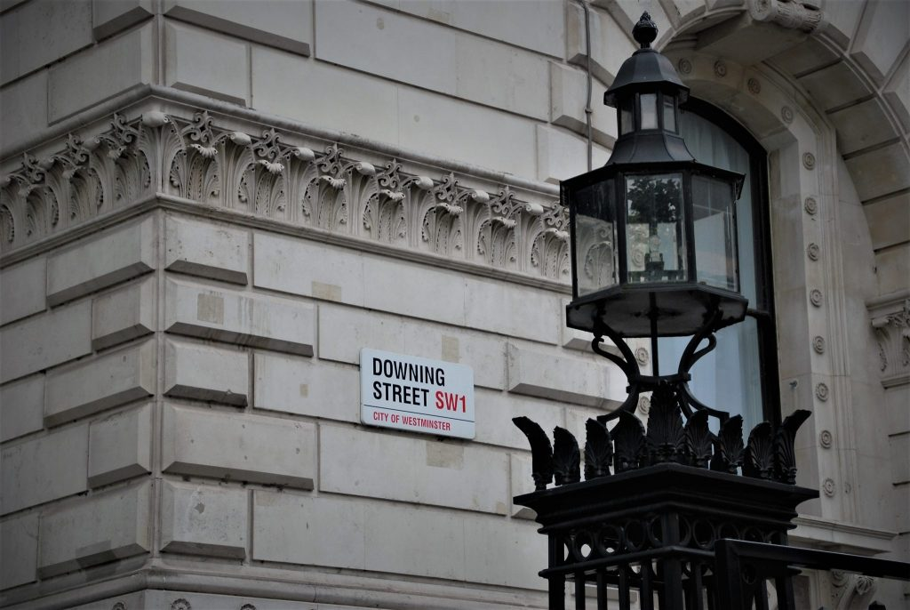 image of downing street to show how Conscious Creatives and the UKSSD will work together to align the national government with the United Nations Sustainable Development goals